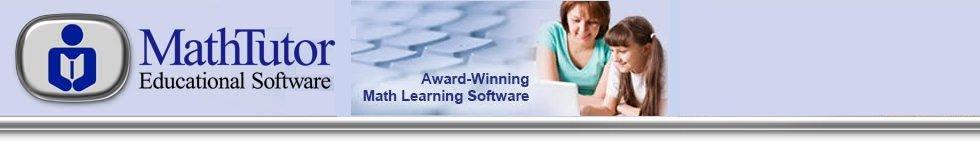 Math Tutor software home logo