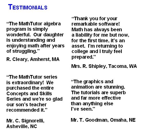 computer programs to master algebra 2